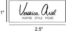 Layout for custom fabric label