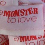 personalized folded clothing tags